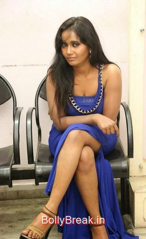Anusha-Photo-Stills-57, Anusha Hot HD Images  in Blue Dress