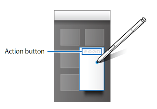 Galaxy Note 5 S Pen Select Action Button