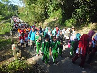Srumbung, Kecamatan Srumbung, Jalan Santai Kecamatan Srumbung 2016