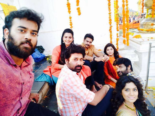 Katamarayudu working Stills