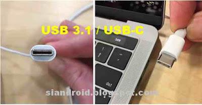 Apa arti dan Fungsi USB Type-C