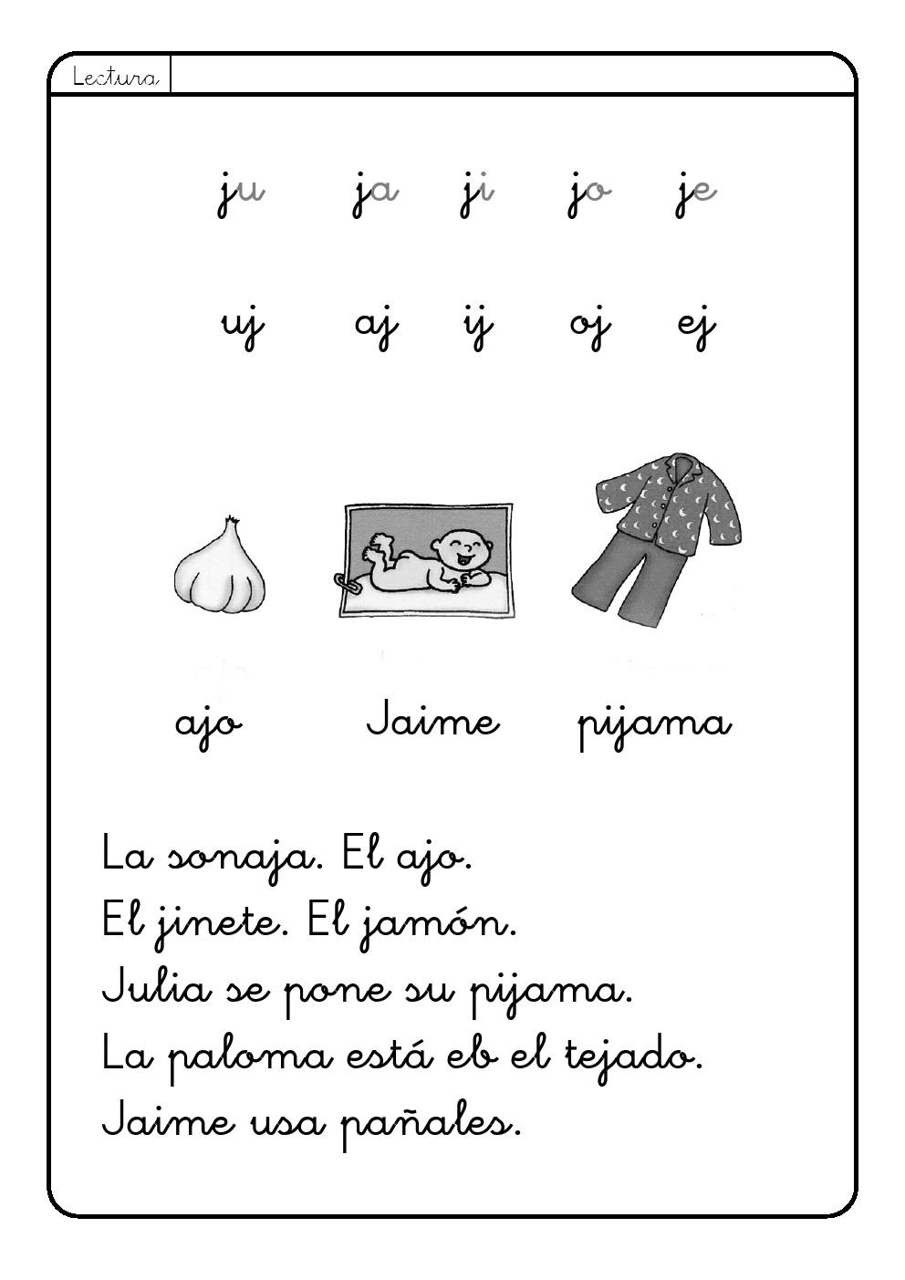 LOS PEQUES DEL CRISTO: Llega la letra J a nuestra clase.(5 AÑOS)
