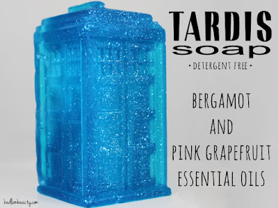 Baroness X Black Friday Special: TARDIS Soap