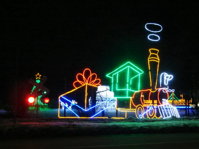 Racine Zoo Christmas Lights