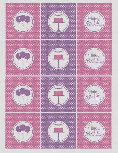 Kit para Cumpleaños de Mujeres, para Imprimir Gratis. | Ideas y ...