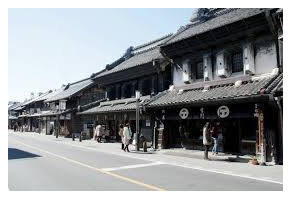 Kawagoe Ichibangai Shopping Street Japan