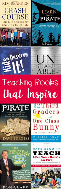 Reading a great teaching book helps to inspire me when teaching has started to burn me out!