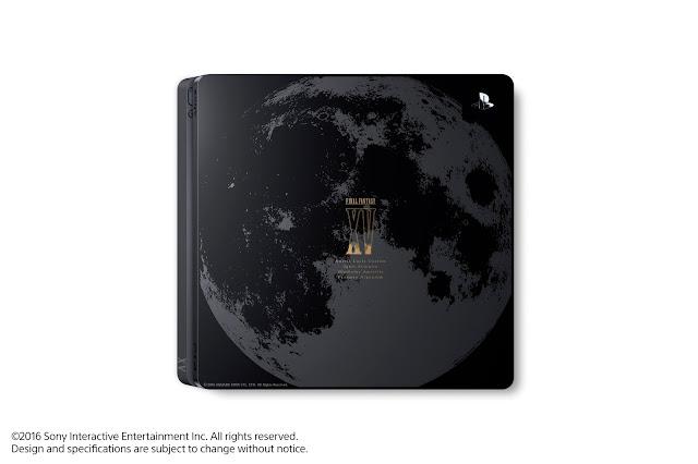 在上方繪製了『FINAL FANTASY XV』的關鍵主題之一「月亮」