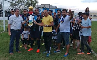 Sport é campeão da 1ª divisão de Futebol em Registro-SP