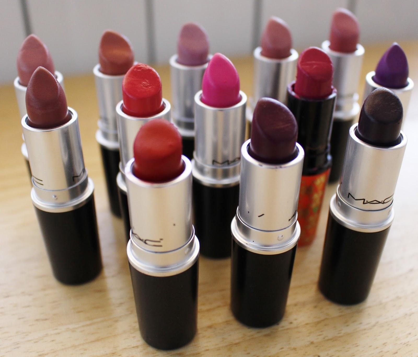 KITTENMOUSTACHE: Video: MAC Lipstick Collection