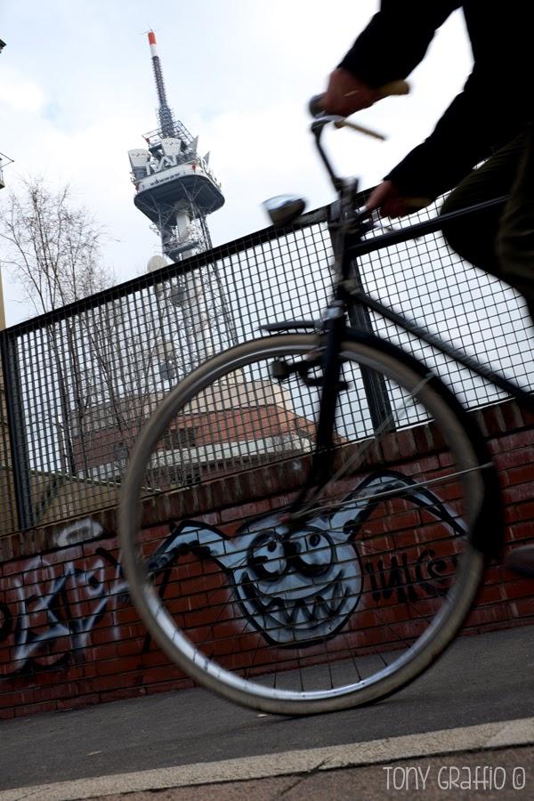 Ruota di bicicletta e Joker