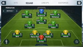 FIFA 14 Unlocked Mod Full Update Transfer Terbaru 2016 Manchester United