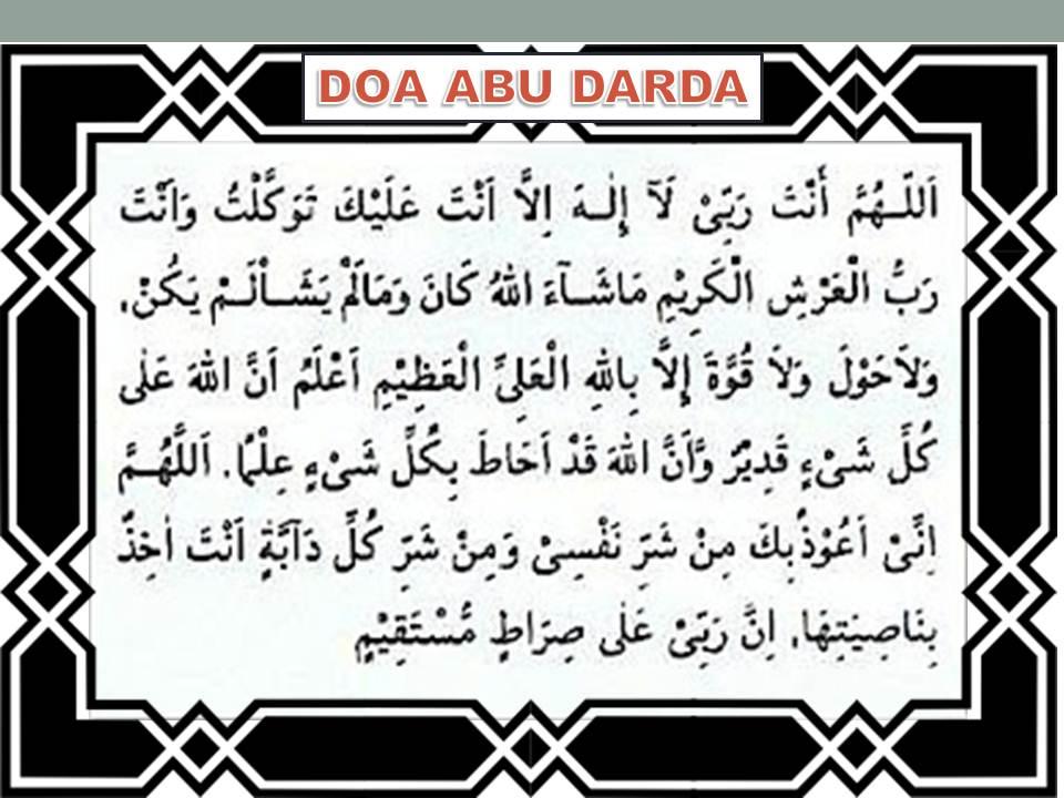 Image result for doa keluar rumah abu darda
