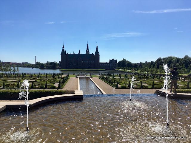vistas del palacio frederiksborg