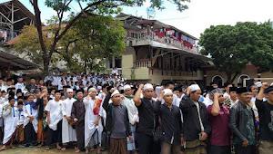 Ribuan Santri Ciamis siap berangkat menuju REUNI 212 di Monas, Jakarta
