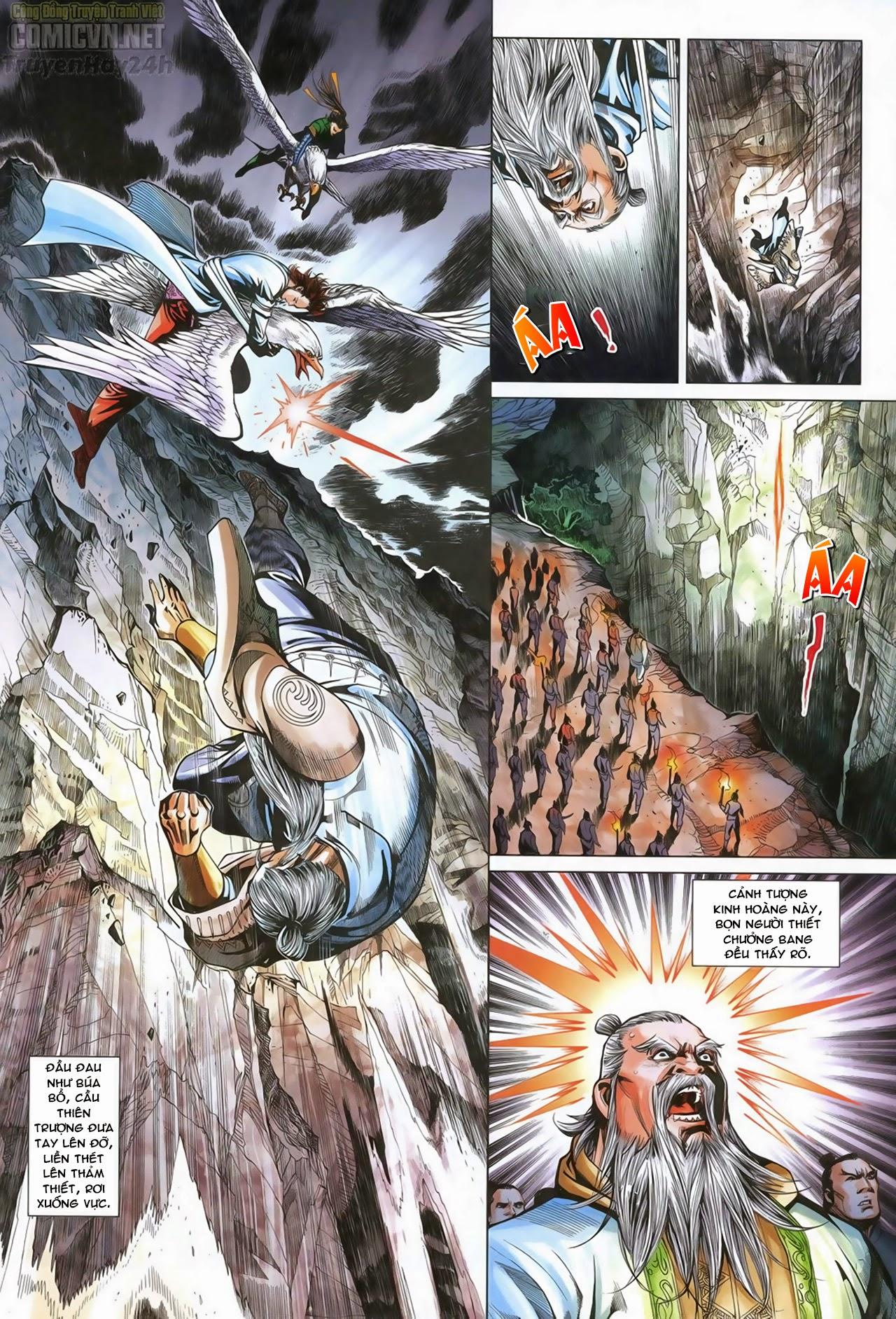 Anh Hùng Xạ Điêu anh hùng xạ đêu chap 70: hắc chiểu ẩn nữ trang 4