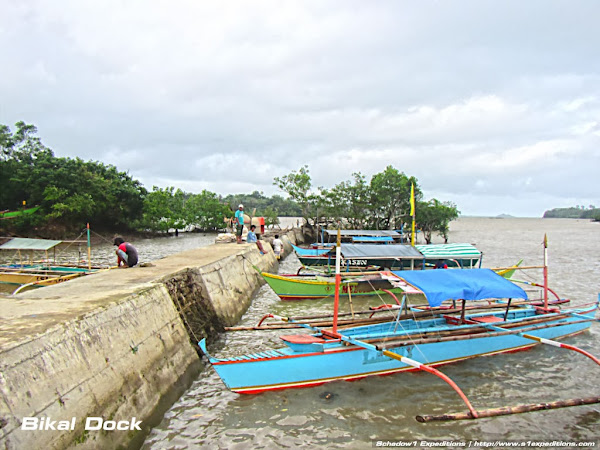 Barangay Bikal Boat Dock - Caramoan Mapping Expedition - Schadow1 Expeditions