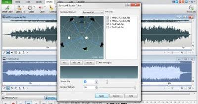 Wavepad diteur de fichiers audio sur windows - Couper un fichier audio en ligne ...