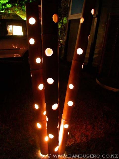 Bamboo Lights Bamboo Products Photo