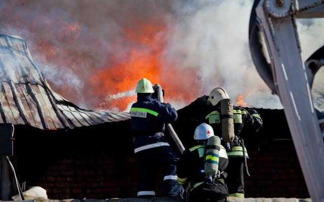 В Башкирии в пожаре погибли два человека