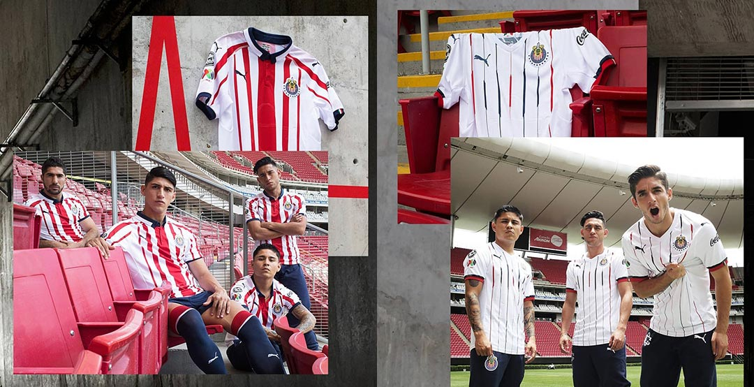 new products c84f0 df955 Chivas 2018-19 Home & Away Kits Released - Footy Headlines