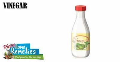 Home Remedies For Foot Tendonitis: Vinegar
