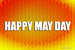 May Day theme chain Background images.
