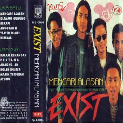 Download Kumpulan Lagu Exist Mp3 Full Album Terlengkap