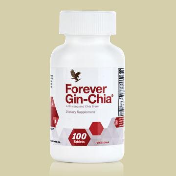 Хранителна добавка с женшен и златна чиа /Forever Gin-Chia/