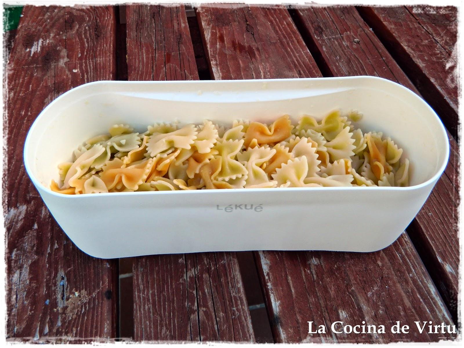 La Cocina De Virtu Cocer Pasta En El Microondas