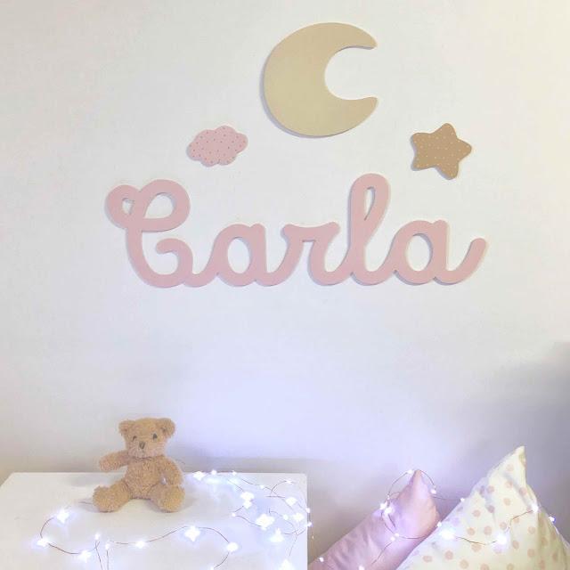 Nombre de niños y niñas , para la pared  , decoración infantil