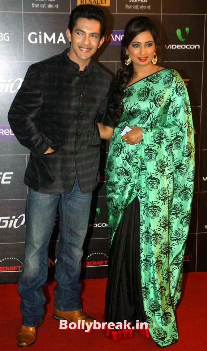 Aditya Narayan and Shreya Ghoshal