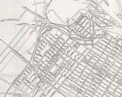 Plan Shewing Water Distribution System of the City of Ottawa, Ont. Scale 1 in. = 800 ft. City engineers office Feb 1903