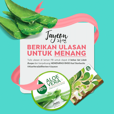 Sampel Percuma Aloe Vera Fresh Soothing & Moisturising Gel
