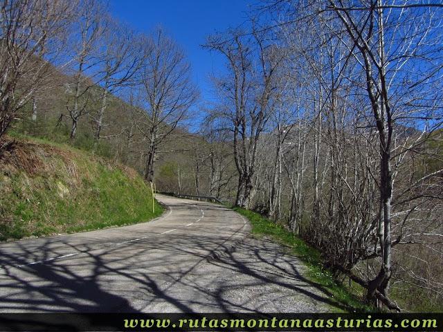Carretera a Tarna