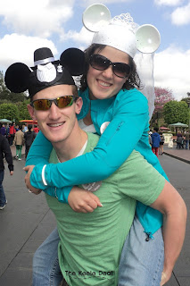 Honeymoon in California at Disneyland