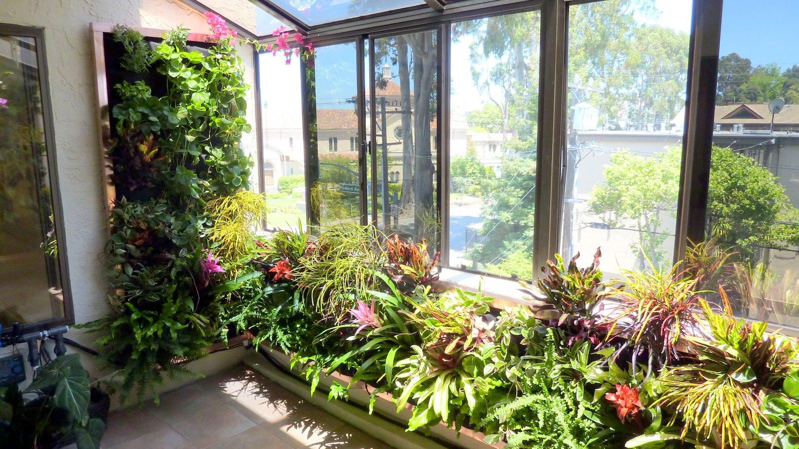 Plants On Walls Vertical Garden Systems Atrium Garden