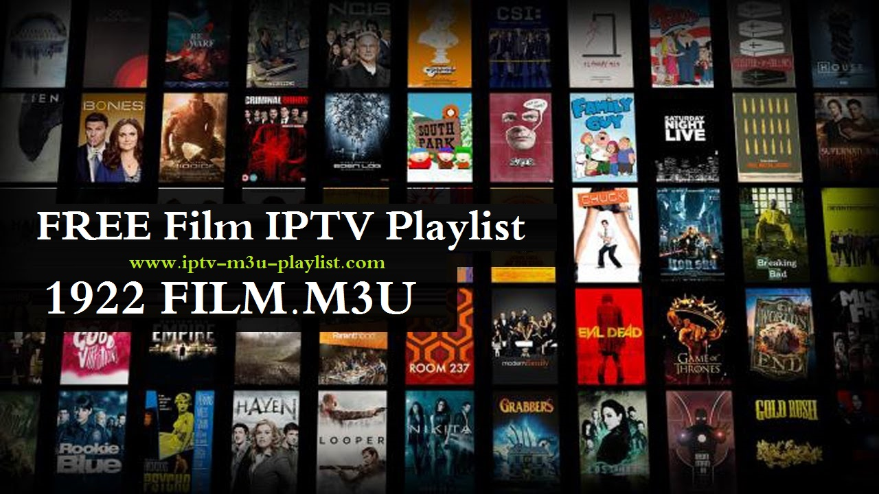 1922 IPTV Films 2018 Playlist & File M3U Плейлисты IPTV Фильмы