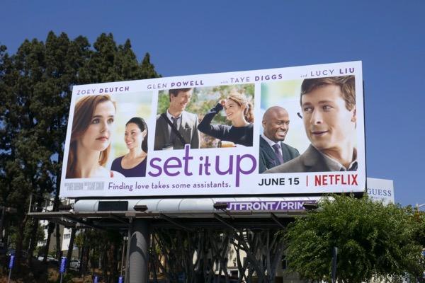 Set It Up movie billboard