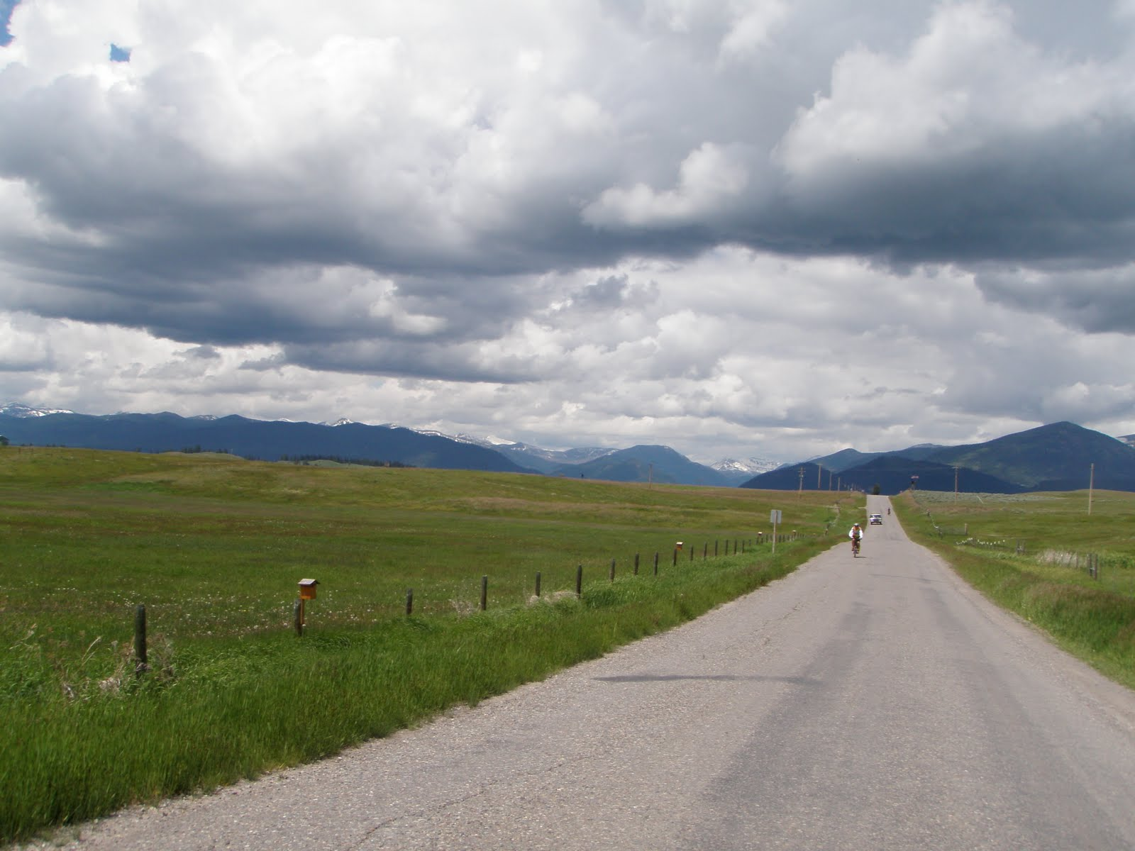 Lone Rider Pedals Missoula Mt To Lincoln Mt 79 Miles