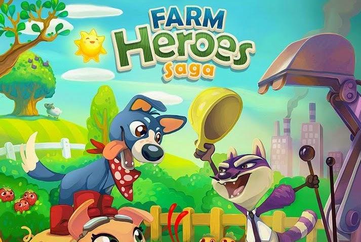 Jogo Farm Heroes Saga