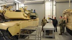 Quân đội Hoa Kỳ công bố hình ảnh đầu tiên về Dòng Xe Tank M1A2C mới với các hệ thống bảo vệ Trophy HV hard-kill tiên tiến