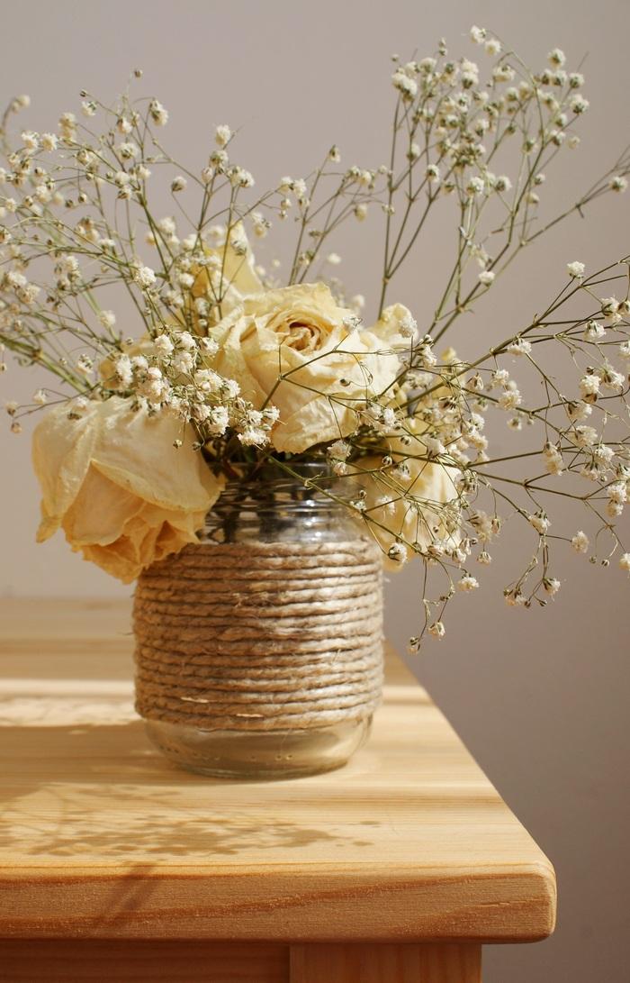rope jar vase diy francinesplaceblog