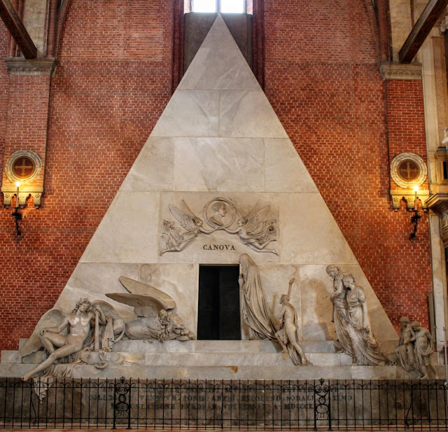 Tomb of Canova, Santa Maria Gloriosa dei Frari, Venice