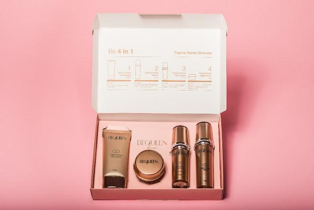Trigona Honey 4 in 1 Set, BeQueen Products, #BeQueenChallengeMY #BeQueenMY #BrownandProudMY,