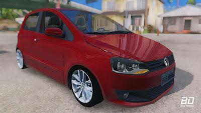 Download mod carro , VW Fox 4P 2012 para GTA San Andreas, GTA SA PC