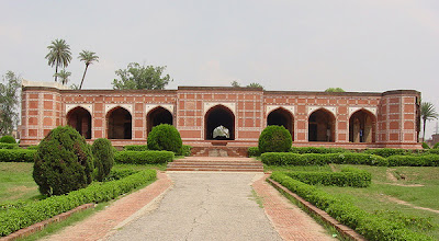 The Tomb of Nur Jahan at Shahdara Bagh in Lahore