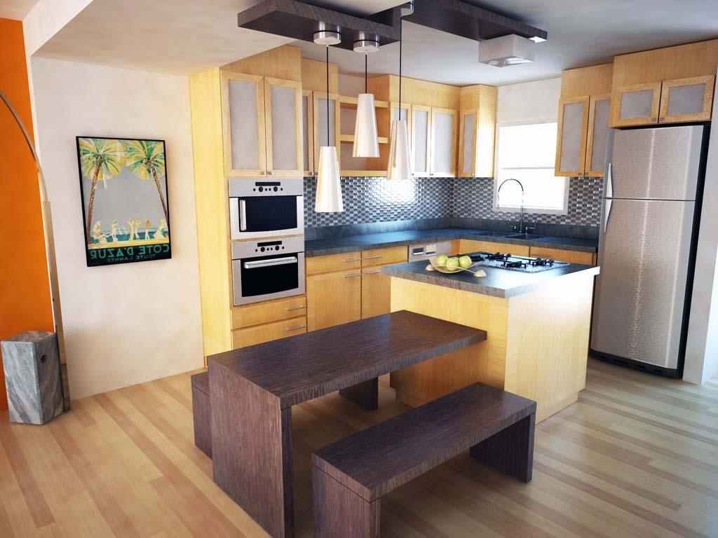 70 Desain Dapur Dan Ruang Makan Sederhana Yang Menjadi Satu