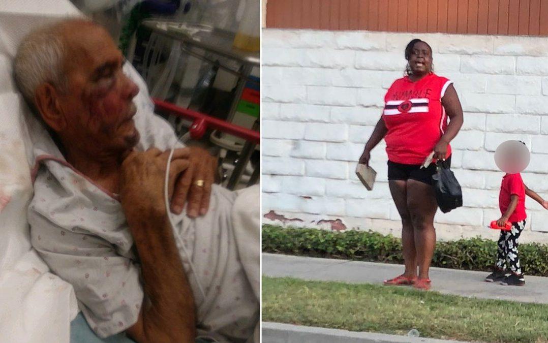 Detienen a mujer que atacó a anciano mexicano en Los Ángeles