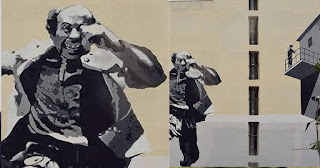 Πάτρα: Το εκπληκτικό γκράφιτι που έφτιαξαν στη μνήμη του Θανάση Βέγγου